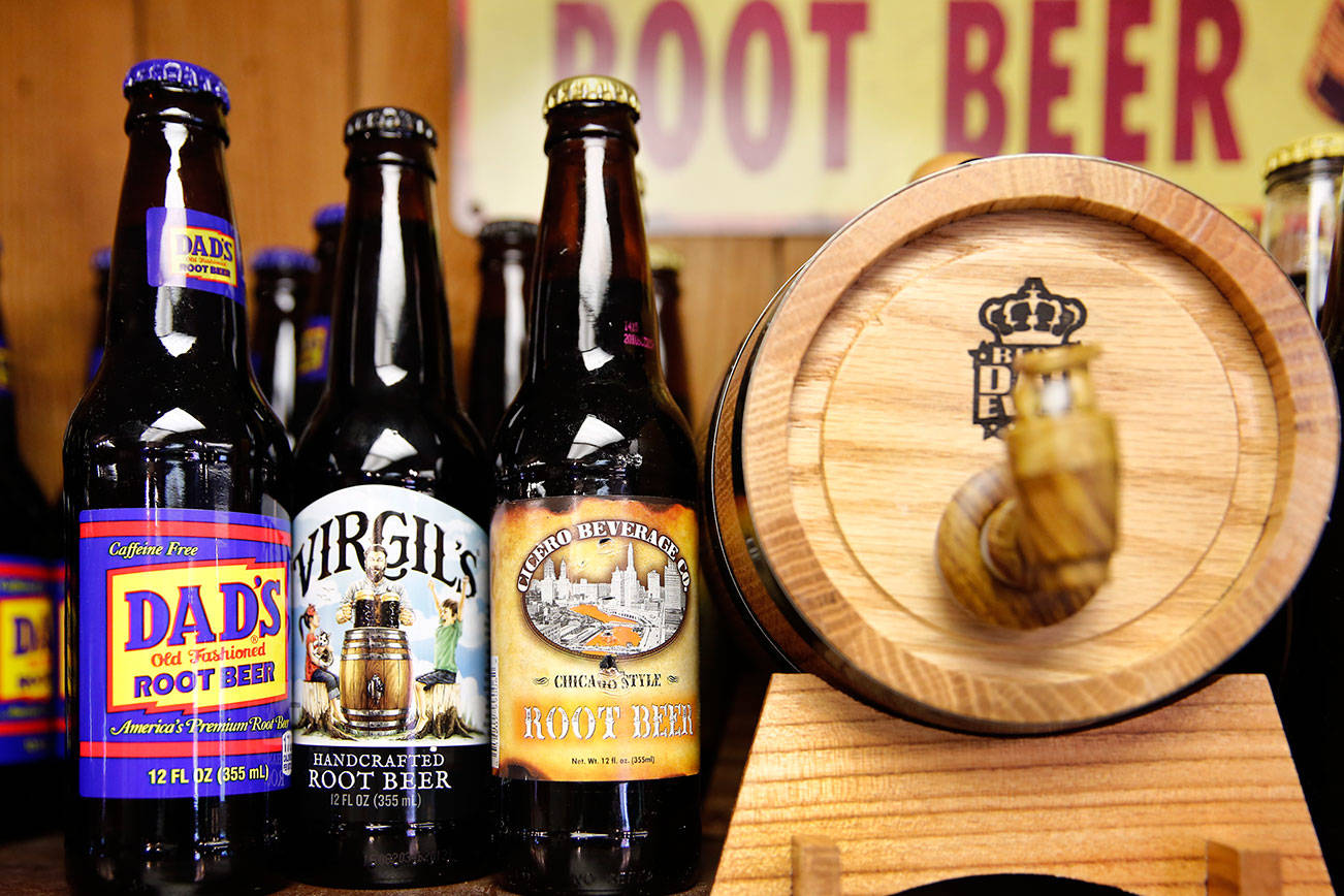 Chug's Root Beer Store in Lynnwood.  (Kevin Clark/The Herald)