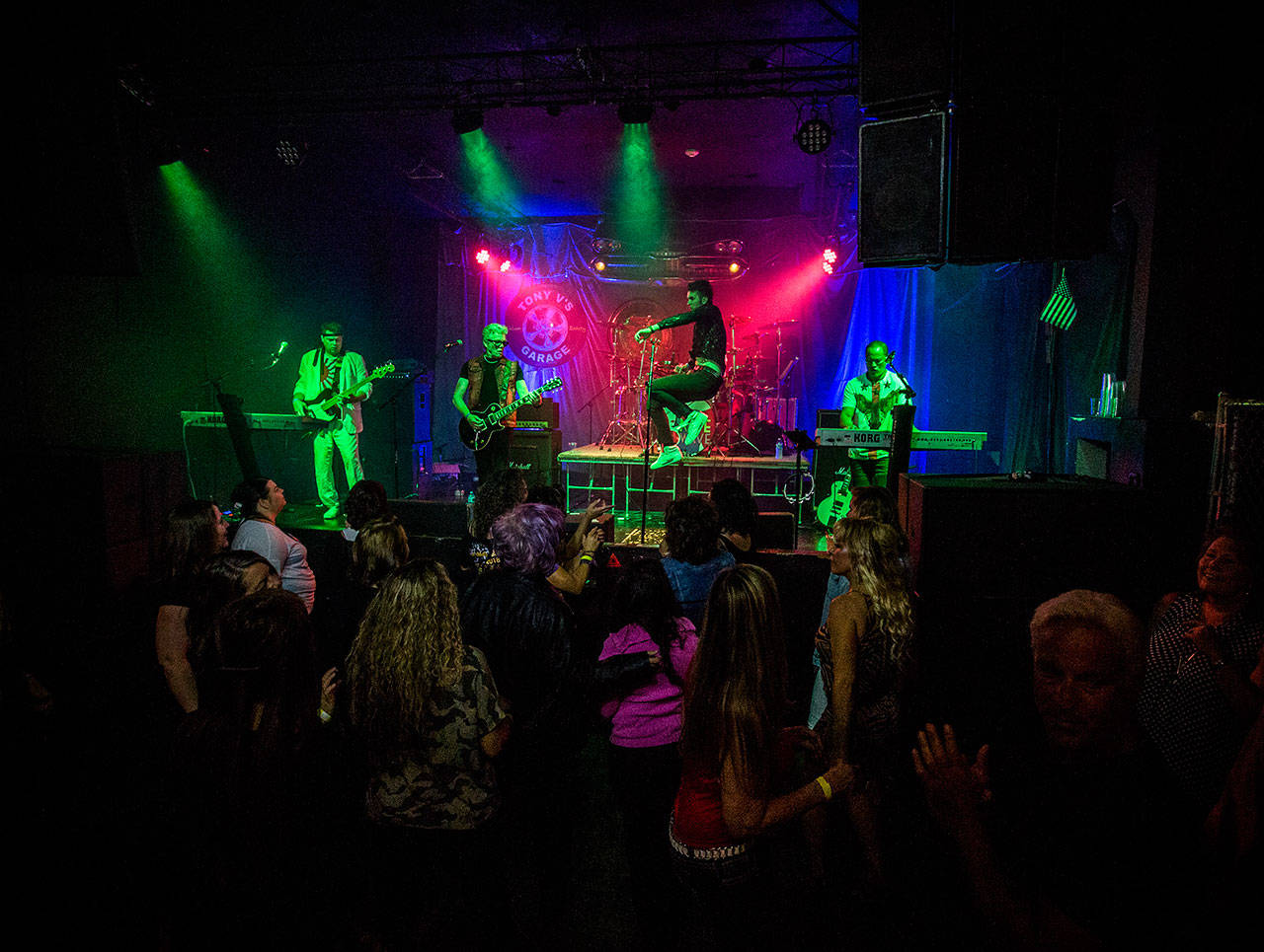 Nite Wave will perform new wave favorites from the '80s in a March 20 show at the Historic Everett Theatre. (Olivia Vanni / Herald file)