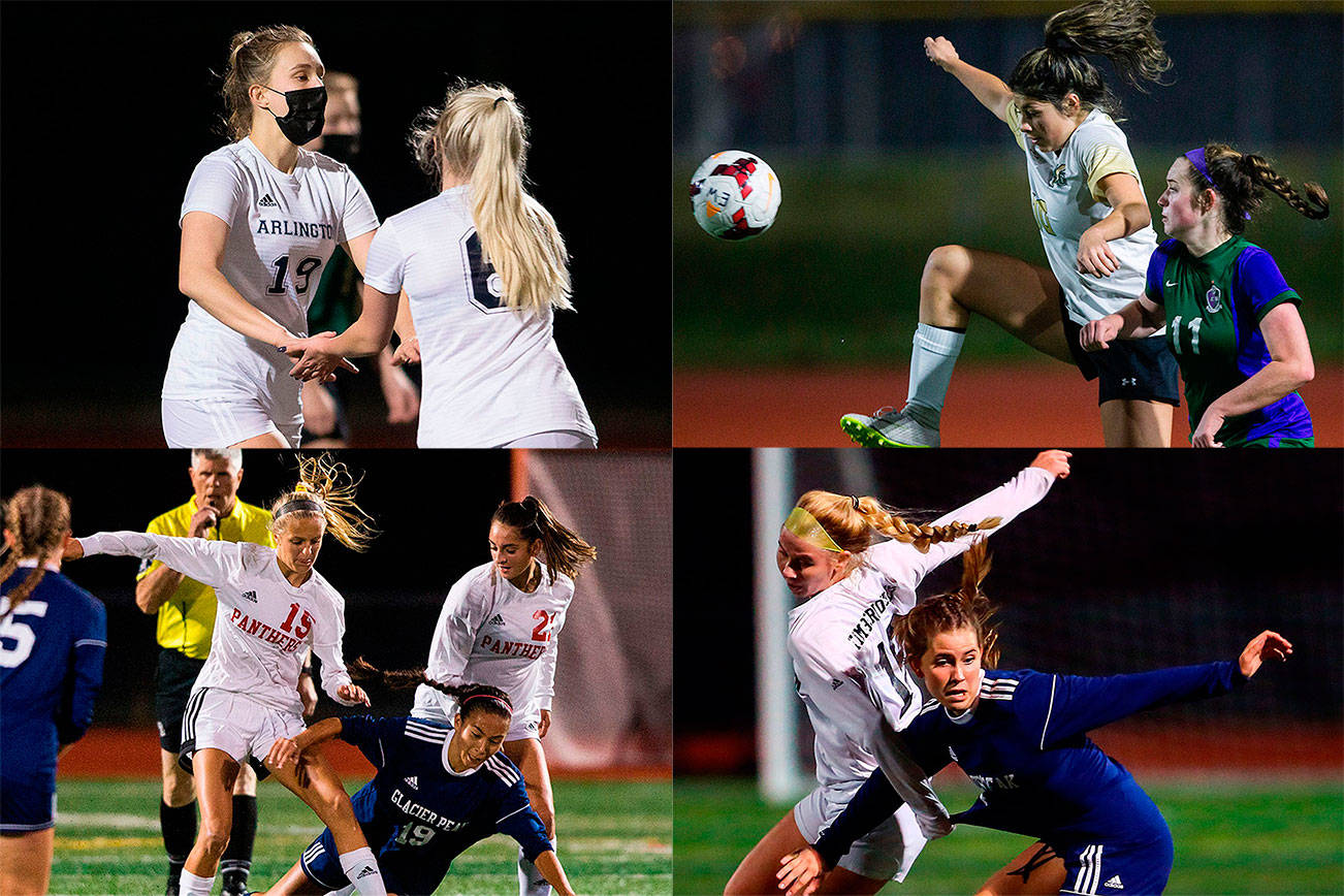 High school soccer teams around the area returned to the pitch for the first time in over 15 months last week.  (Herald file photos)