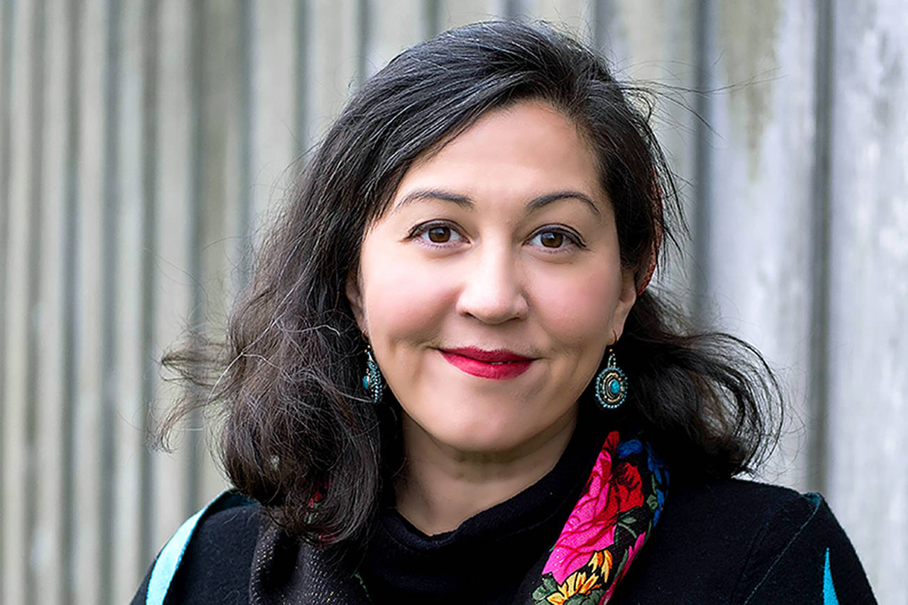 Rena Priest, an American Book Award-winning poet and member of Lhaq'temish (Lummi) Nation, is the first indigenous poet to be appointed Washington State Poet Laureate. (Lela Childs/ArtsWa/HumanitiesWashington)
