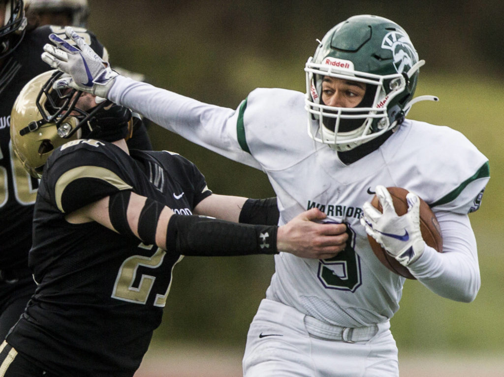 Edmonds-Woodway went 5-0 this spring and allowed a total of just 20 points. (Olivia Vanni / The Herald)