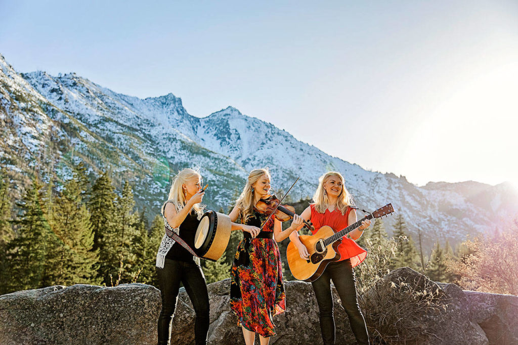 The Gothard Sisters' latest album is inspired by their Western travels. From left, Solana, Willow and Greta Gothard. (Ruth Vanden Bos)