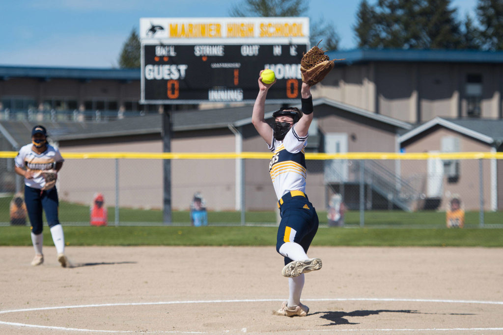 Slater averaged a whopping 14.6 strikeouts per game and struck out more than half the batters she faced this season. (Dale Slater / Courtesy photo)