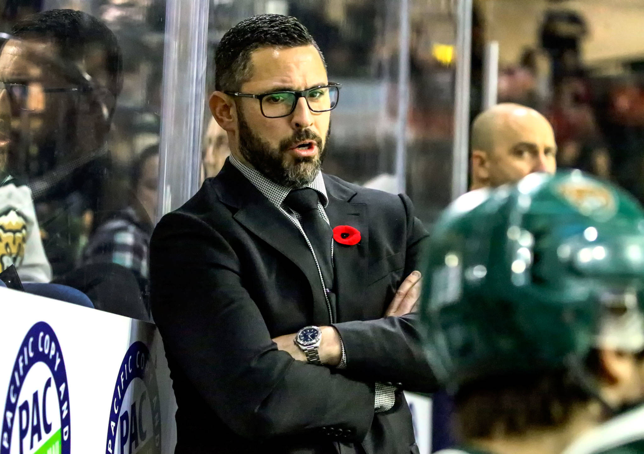 Silvertips head coach Dennis Williams was named the team's interim general manager on Tuesday. (Kevin Clark / The Herald)
