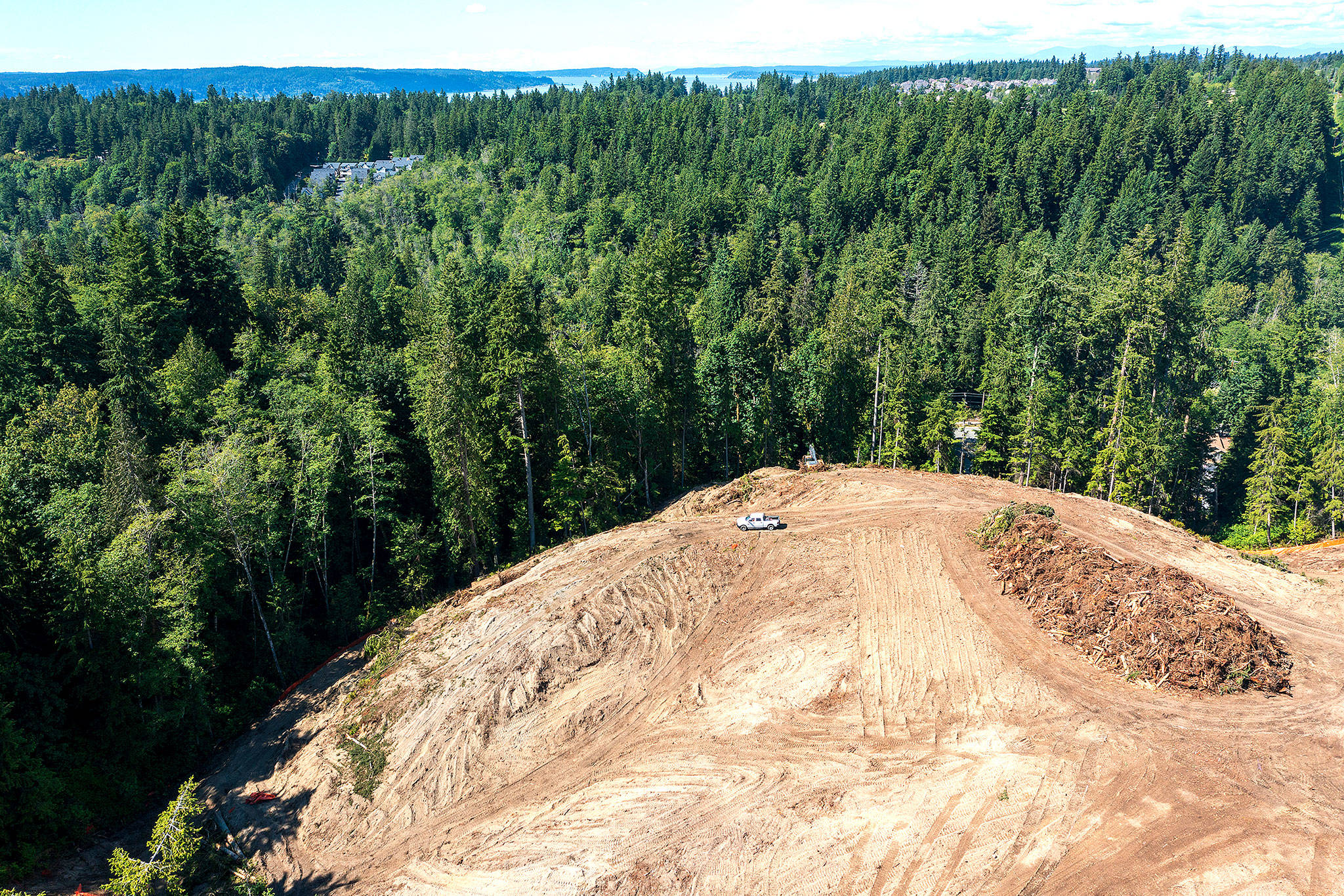 Site preparation for housing development is underway at the property known as Frognal Estates. (Chuck Taylor / The Herald)