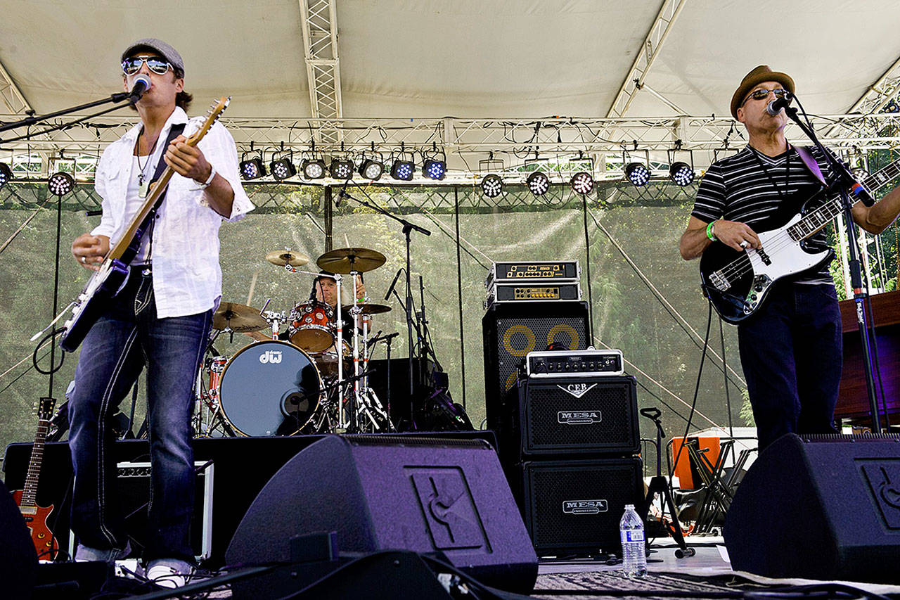 The Chris Eger Band will perform at Loco Billy's Wild Moon Saloon in Stanwood on June 26. (Chris Eger Band)