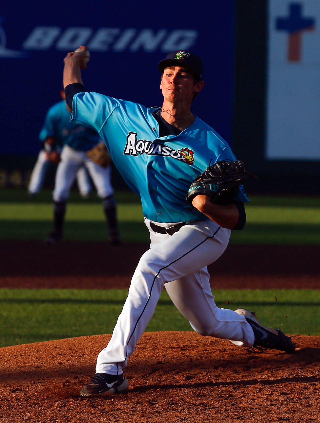 AquaSox pitcher Emerson Hancock was selected to the All-Star Futures Game, which showcases baseball's top minor league prospects. (Kevin Clark / The Herald)