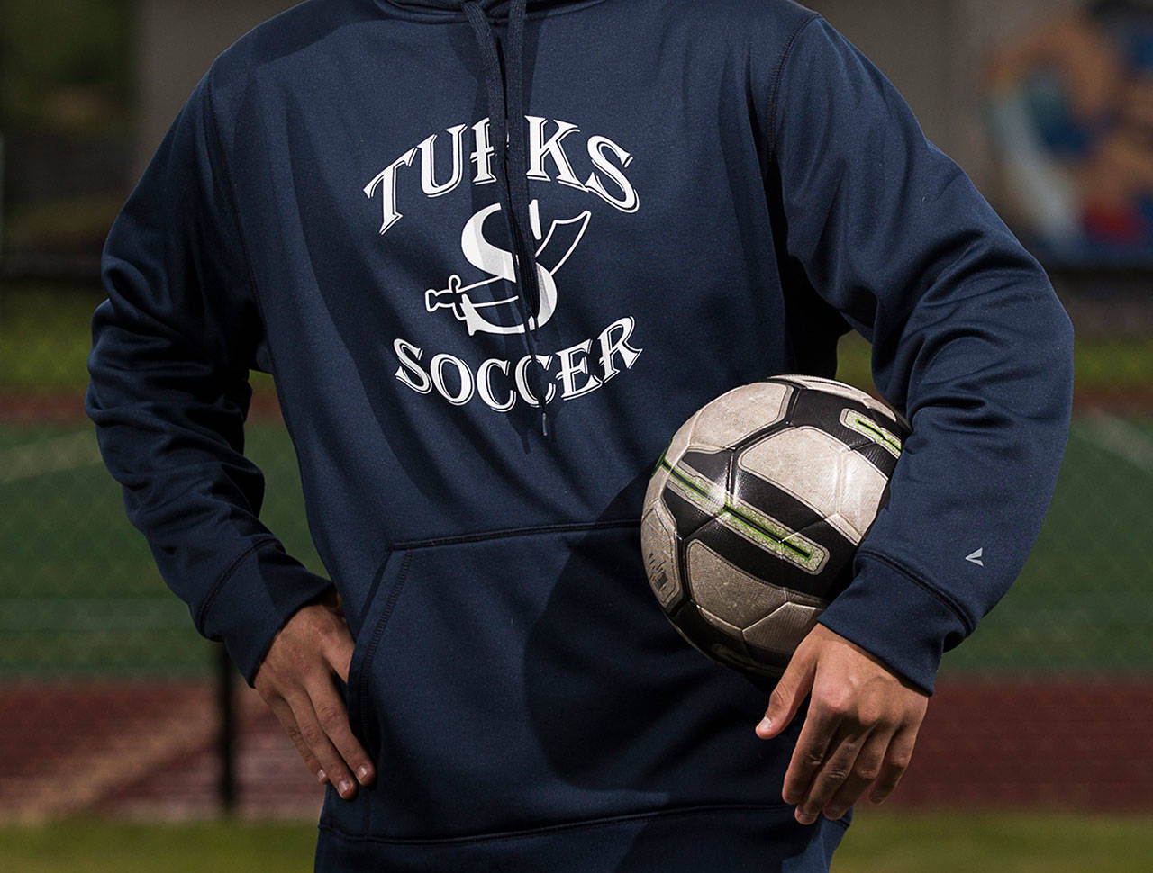 Sultan High School's sports teams are known as the Turks. (Andy Bronson / Herald file)