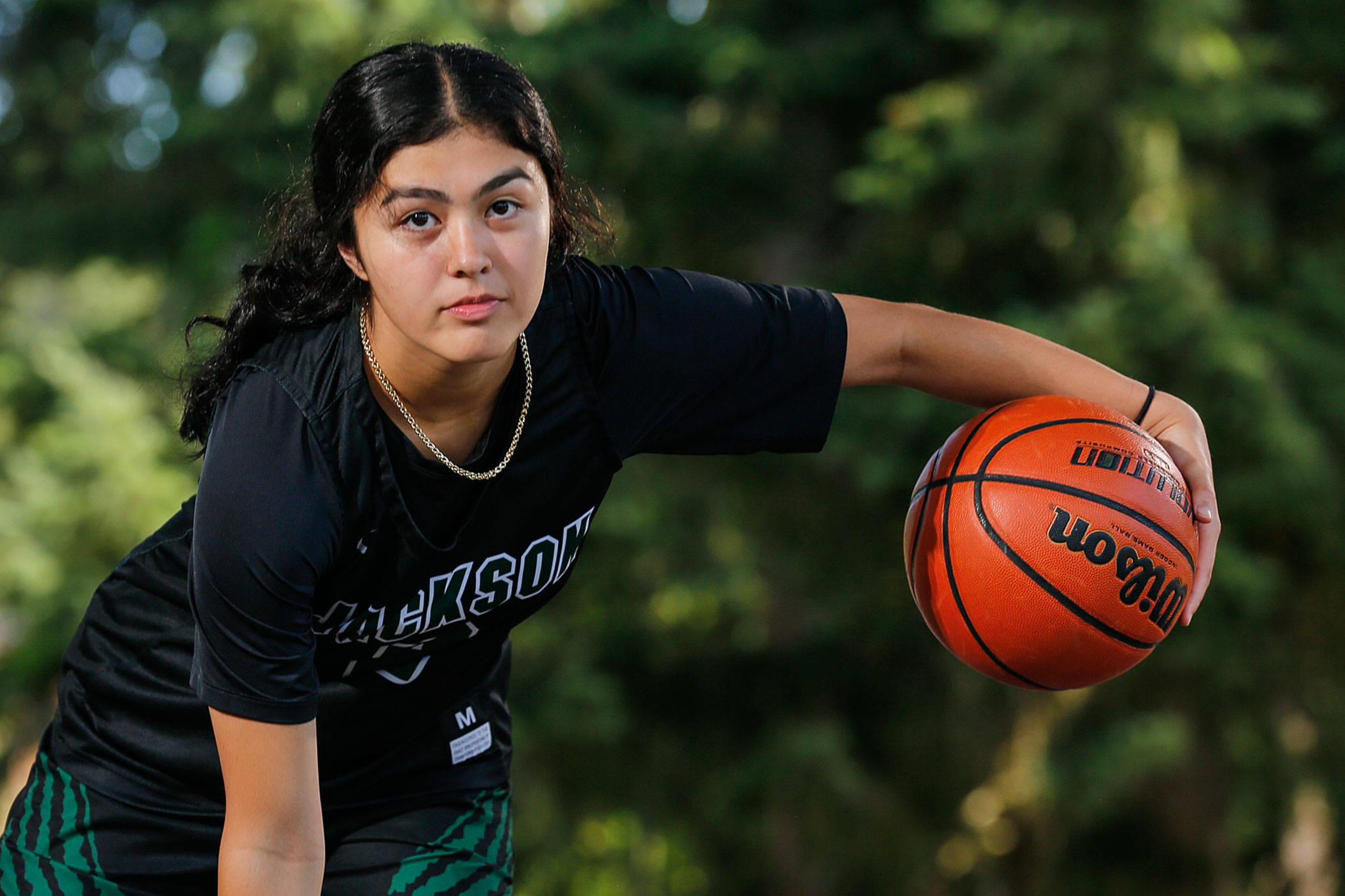Jackson High School freshman Giselle Dogan is The Herald's Athlete of the Month for May/June. (Kevin Clark / The Herald)