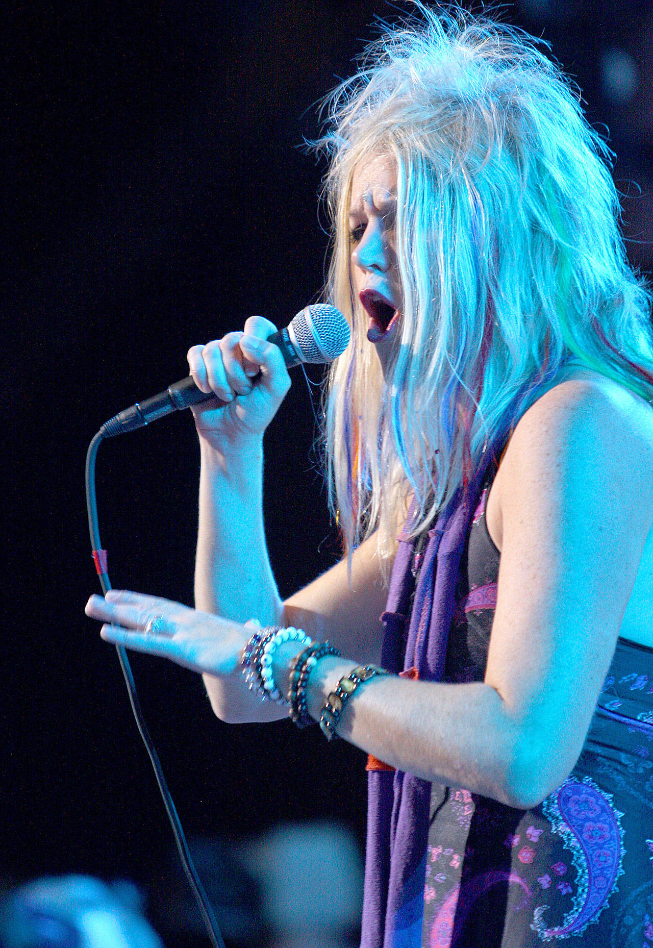 Cathy Richardson is lead vocalist of Jefferson Starship, which is scheduled to perform Sept. 17 at the Historic Everett Theatre. (Associated Press)