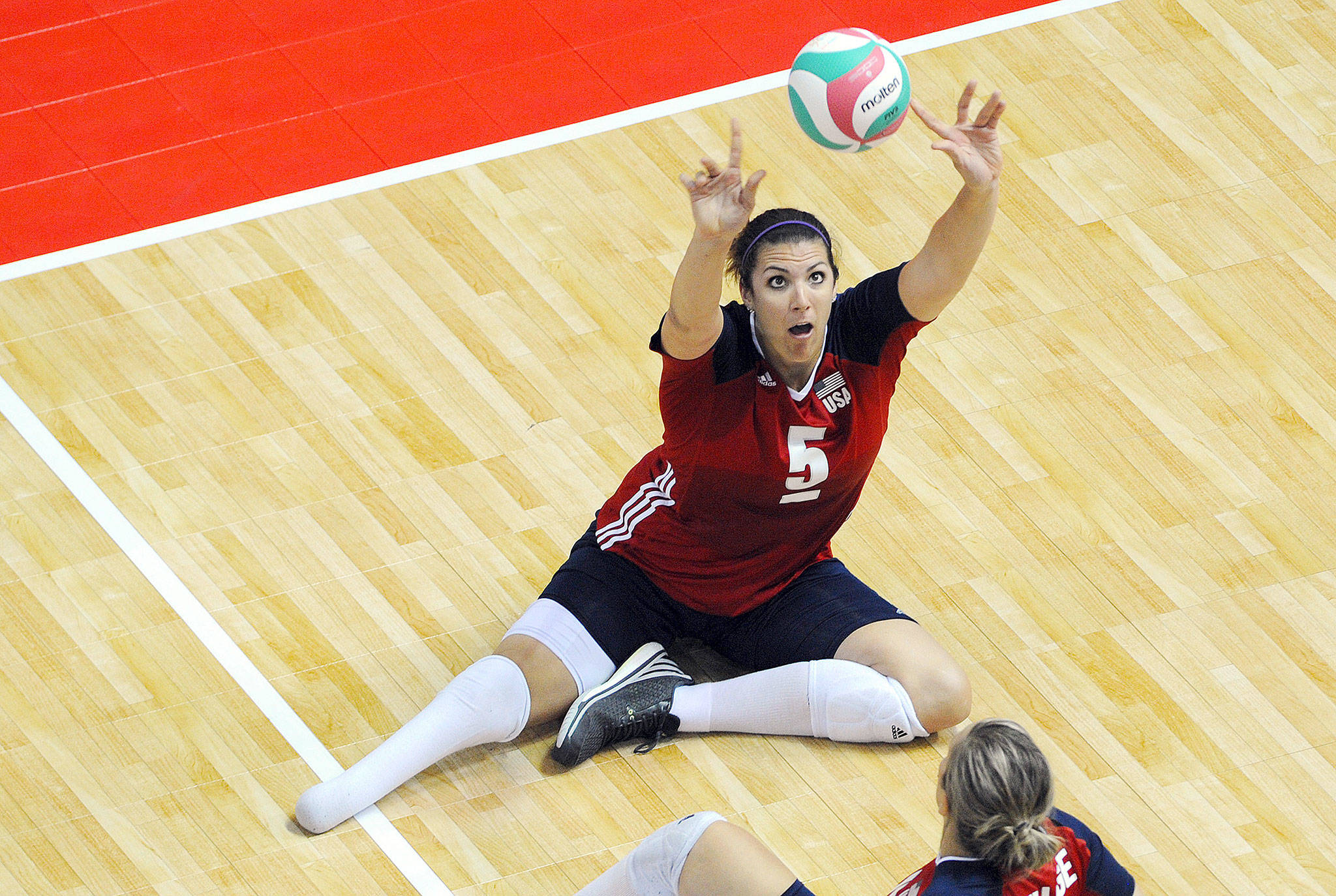 Katie Holloway, a 2004 Lake Stevens High School graduate, is headed to Tokyo to compete in her fourth Paralympic Games. (USA Volleyball)