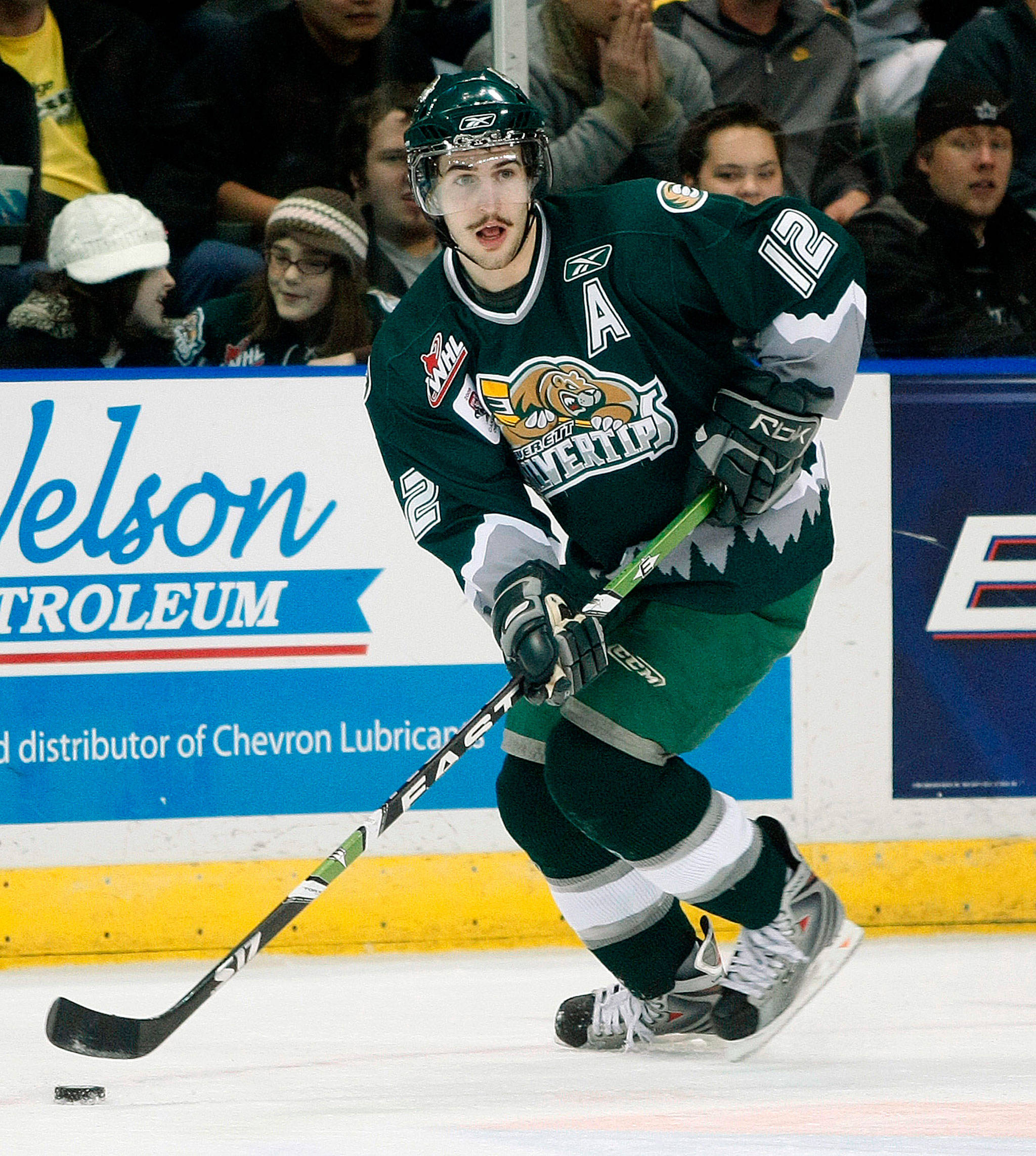 The Silvertips' traded controversial forward Kyle Beach the Lethbridge Huricanes in 2009. (Jennifer Buchanan / The Herald)