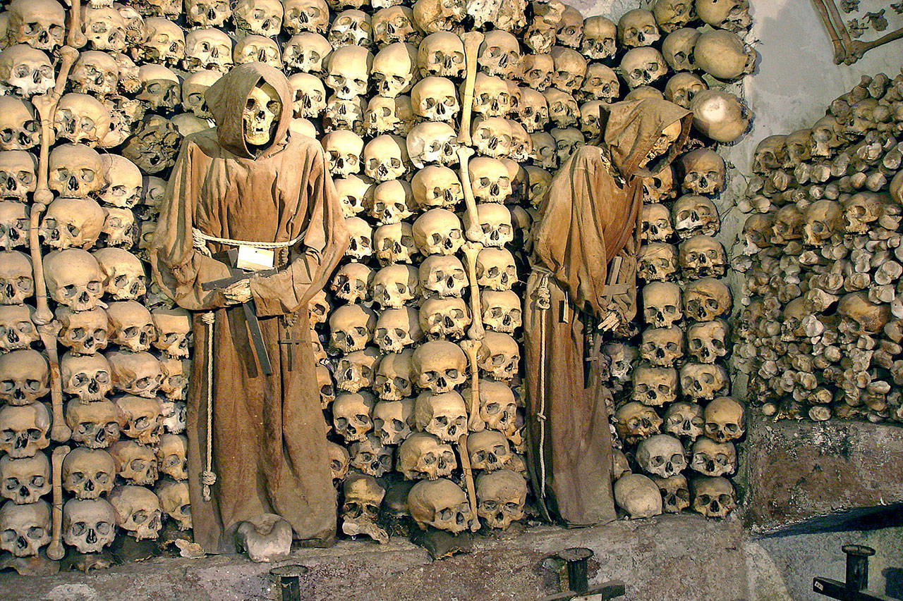 The Capuchin Crypt in Rome holds the bones of 4,000 monks who died between 1528 and 1870. (Rick Steves' Europe)