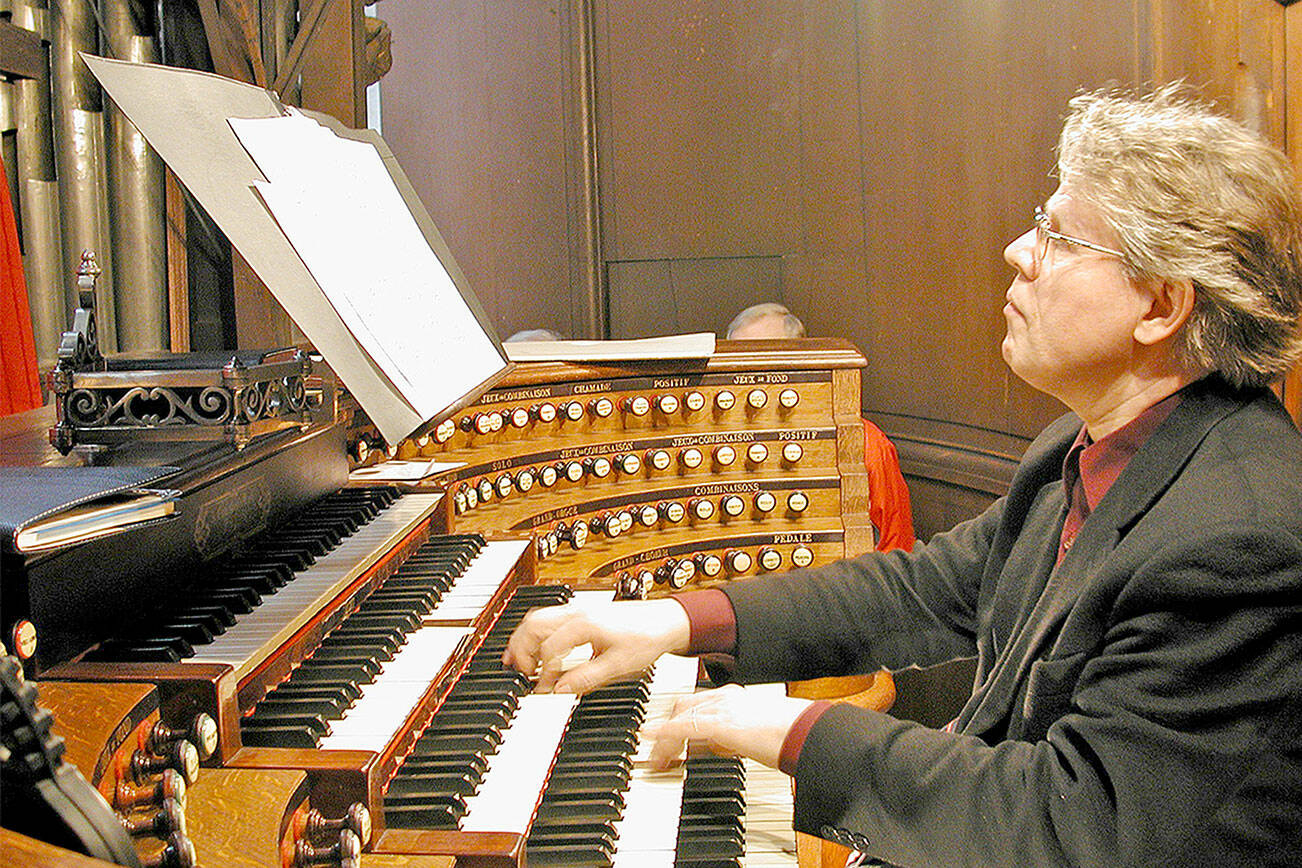 St. Sulpice's organ, powering worship with music.